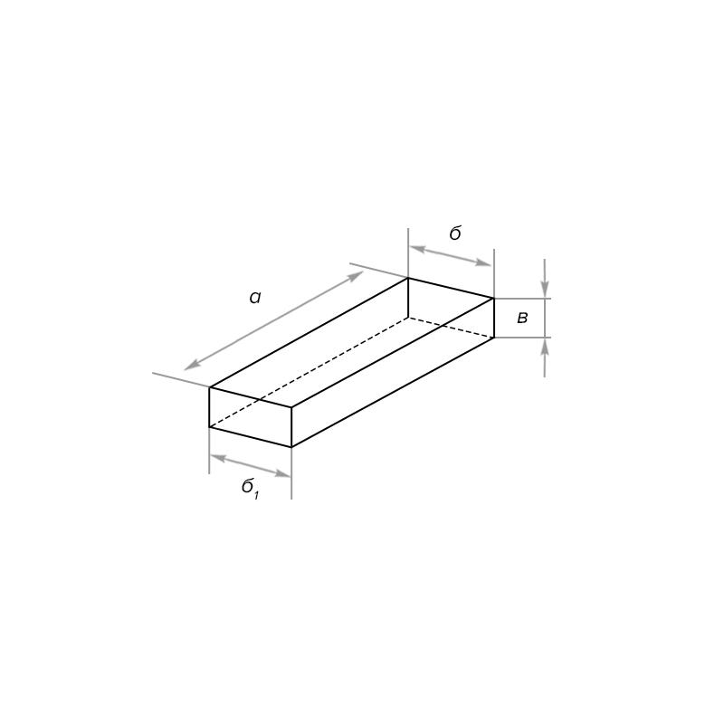 Кирпич стеновой клиновой симметричный муллитокорундовый МКВ-72