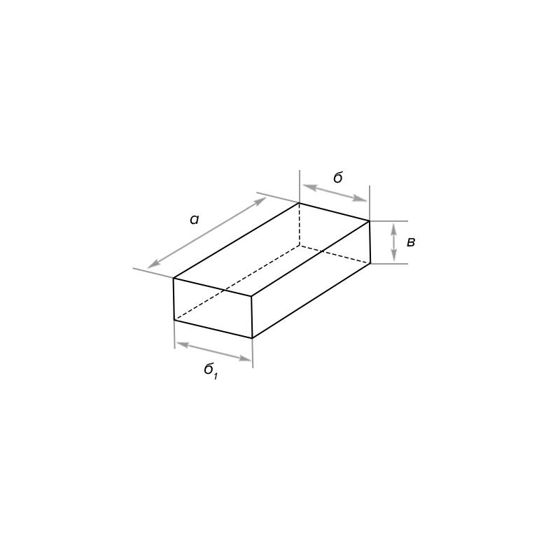 Кирпич стеновой клиновой симметричный